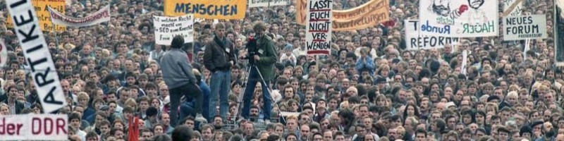 28e anniversiare de la chute du Mur de Berlin