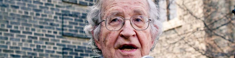 Noam Chomsky: Ofensywa