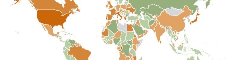 Endettement des pays